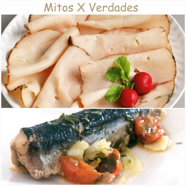 Peito de peru-sardinha
