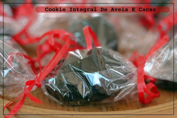 Receitas Funcionais: Cookie Integral De Aveia E Cacau