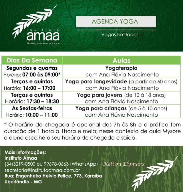 agenda-yoga